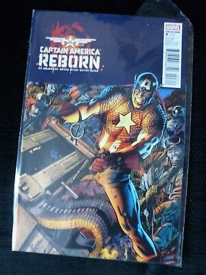 Captain America Reborn Marvel Comic Limited Series number 3  new