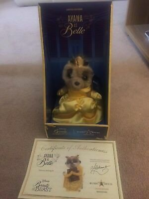 Limited Edition Meerkat Movies Ayana as Disney's Belle Beauty and the Beast BNIB