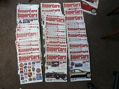 Full Set Complete Collection Of The Encyclopedia Of Supercars Issues # 1 - 120