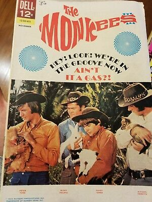 Monkees #16 Photo Cover Dell Music TV Comic 1968