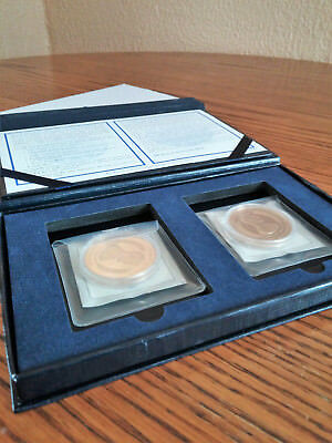 American Mint Collectible Two Coin Lincoln Commemorative Coin Set