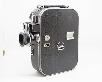 Zeiss Ikon Movikon 2.5cm, 5cm, 7.5cm lenses Case and Manual SEE CONDITION 16mm