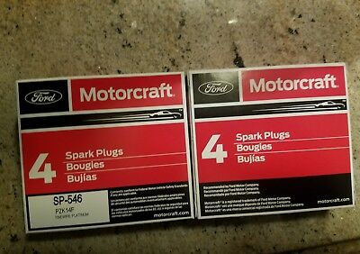 (8) Motorcraft sp-546 replacement for sp515