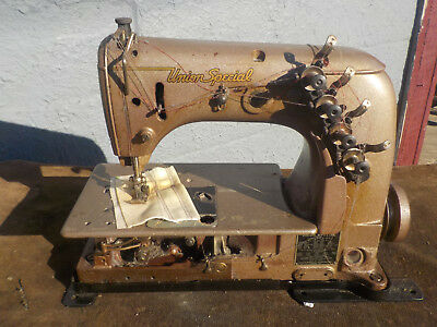 Industrial Sewing Machine Union Special 52-700 -two needle cover
