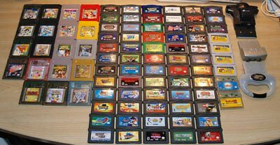 Nintendo Game Boy Color Advance GBA SP System Video Game Console Lot