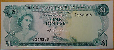 THE CENTRAL BANK OF THE BAHAMAS - 1 Dollar, 1974 - Fast wie NEU