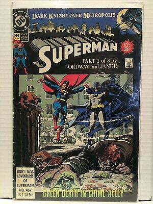 Superman (Vol 2) #44 VG/FN 1st Print DC Comics