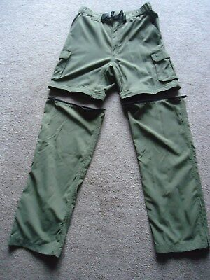 Bsa Boy Scouts Of America Uniform Switchback Nylon Pants/shorts~Mens Small 30""