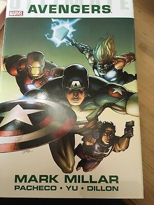 Marvel Comics - ULTIMATE AVENGERS OMNIBUS HC by Mark Millar - NEW CONDITION