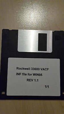Rockwell 33600 VACF Inf file for Win95 Rev 1.1