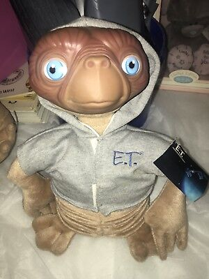 E.T. Soft Toy Figure Extra Terrestrial Made By Applause -With Tags