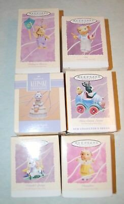 Lot Of 6 Hallmark Keepsake Easter Ornament