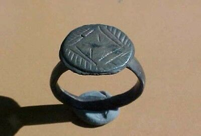 Ancient Bronze Ring size 7 1/2