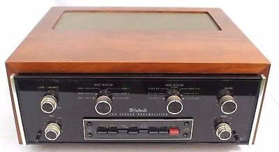 Vtg MCINTOSH C29 STEREO PREAMP AMPLIFIER PRE AMP -  1 Owner MINT COND