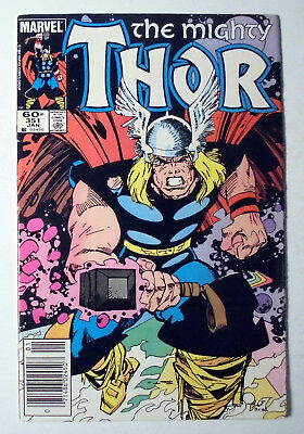 Thor #351 Copper Age Marvel Comic Book 1985 FN+