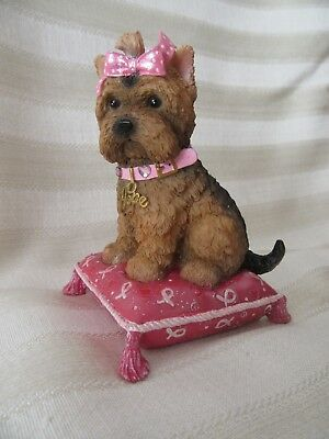 Paws For The Cause Yorkie Figurine Hope