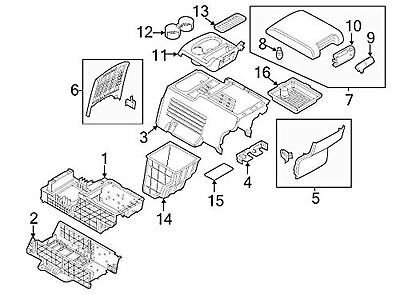 Genuine Ford DA8Z-7413562-BB Cup Holder