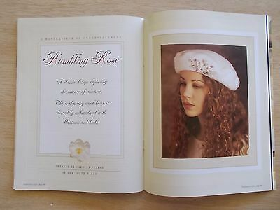 Inspirations~GIFTS~16 Embroidery Projects~Beret~Brooches~Shoe Fillers~Coathanger