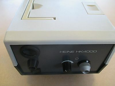 Heine HK 4000 endo Endoskopie Kaltlichtquelle Endoskop Light Source