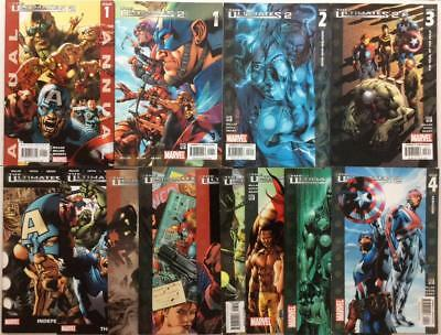 Ultimates 2 #1 to #13 near complete series + annual (2004 Marvel) 13 x issues