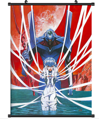 "Hot Japan Anime Evangelion Ayanami Rei Home Decor Poster Wall Scroll 8""x12"" P307"
