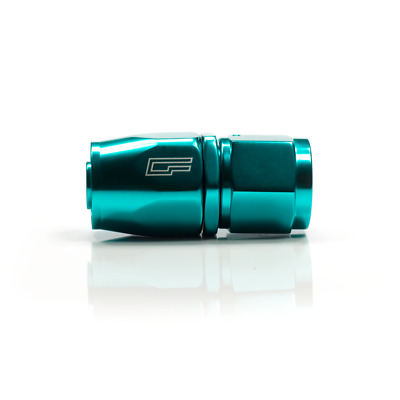 "TEAL -10AN / 10AN Fitting ""Dash Ten"" straight swivel fitting"