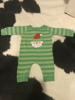 Cute Mud Pie Santa Outfit Size 0-6m