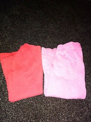 2 pair of girls pants 2-3 yrs