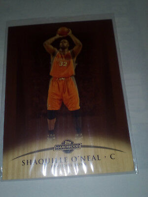 Shaquille O Neal Ud Hardwood Off The Wood 31/75 2009