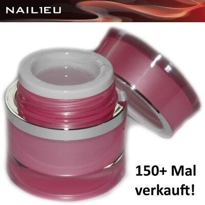UV construction gel de fibre verre clair nail1eu 15ml / builder