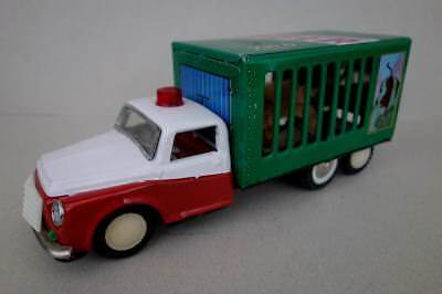 1960/70s Red China MF 239 TIGER Transport LKW Tin Toy Truck Friction