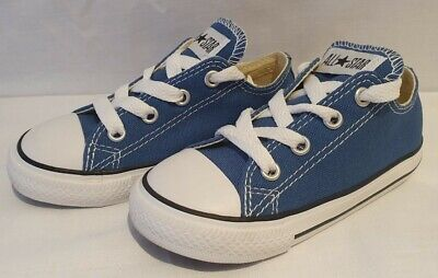 Infants Converse Ct All Star Ox Low Blue 736816C Bnib  11