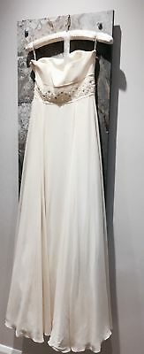 BNWT Beautiful  strapless Wedding Dress from Monsoon - size 8