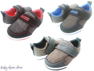 Toddler boys casual sneakers canvas tennis shoes 4-9