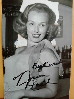Noreen Nash  Authentic Hand Signed Autograph 4X6 Photo - 40'S & 50'S ACTRESS !!