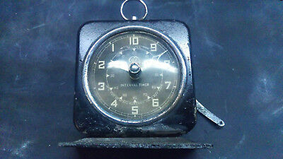 Vintage GE Interval Timer with beautiful patina