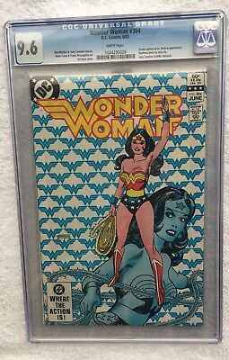 Wonder Woman #304 CGC Graded 9.6 1983 (1st Series) 1024295028 Comic