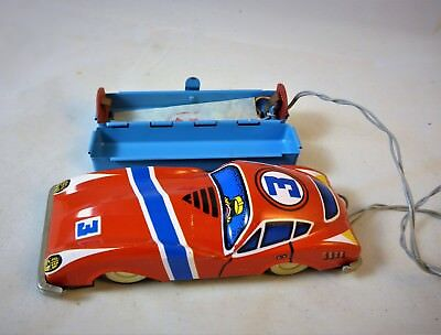 Ultra rare! China ME 743 Racing car bat. operated remote control fully working!!