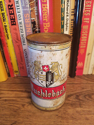 Muehlebach Lager 12oz Flat Top Beer Can