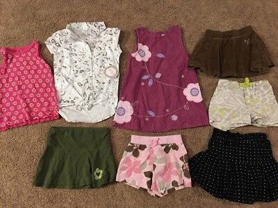 Miscellaneous Lot Of Girls Size 4 4T Clothes Spring Summer