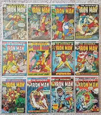 Vintage Iron Man Vol 1 Lot - 19 Select Issues from the 70's
