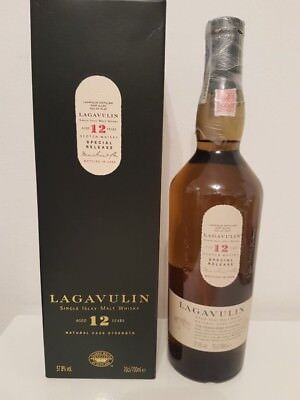 1 Flasche Lagavulin 12 Years Bottled 2003 Special Release 57.8% 700Ml