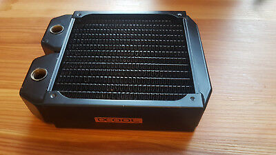 Alphacool NexXxoS XT45 Full Copper 140mm Radiator, gebraucht