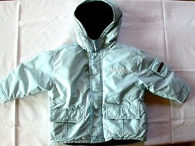 """BABY COOL"" superbe anorak ciel 18 mois"