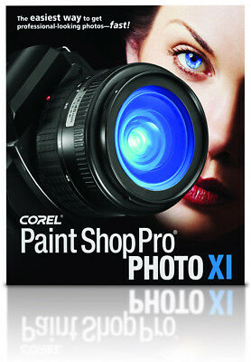 Corel Paint Shop Pro XI OEM Deutsch Paintshop Grafik Bildbearbeitung Vollversion