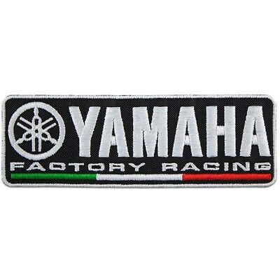 Yamaha Factory Racing Toppa Patch Ricamata Termoadesiva