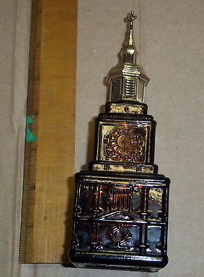 Collectible Stanley Bi-Centennial Independence Hall Big Wheel Lotion Bottle