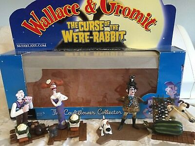 Wallace & Gromit The Curse of the Were-Rabbit figures