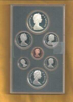 1984 Canada Proof Double Dollar Set  7 Coins