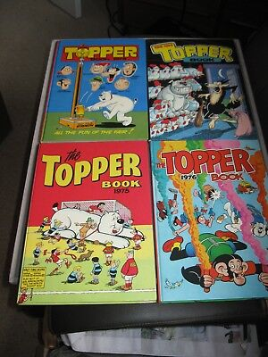 Topper Book 1973, 1974, 1975 and 1976 in Fine Condtion
